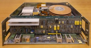 Olivetti M40 hard disk from the 1980's